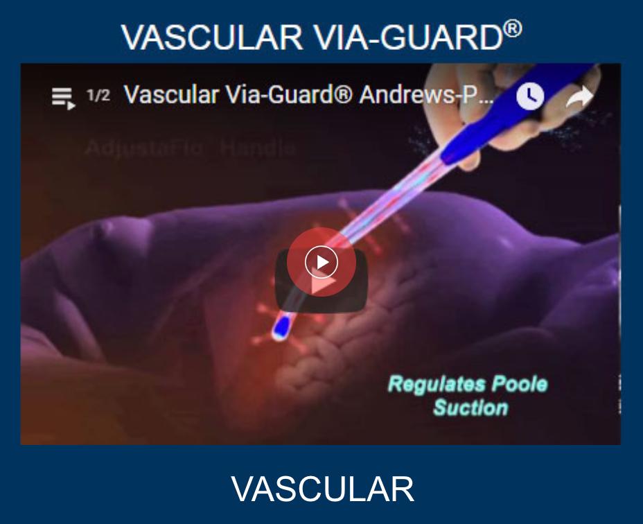 vascular viaguard suction